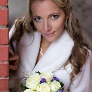 Свадебная прическа для Наталии