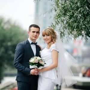 свадебная прическа для невесты минск недорого
