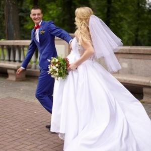свадебная прическа для невесты минск выезд качественно