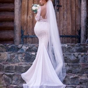 свадебная прическа для невесты минск