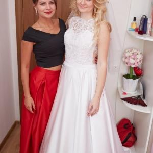 свадебная прическа для невесты минск выезд